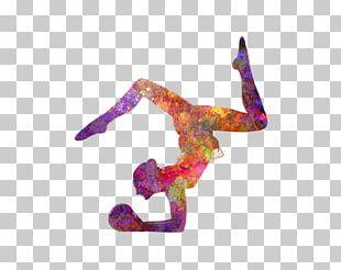 Rhythmic Gymnastics Sport Artistic Gymnastics Silhouette PNG