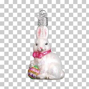 Easter Bunny Christmas Ornament Christmas Decoration PNG