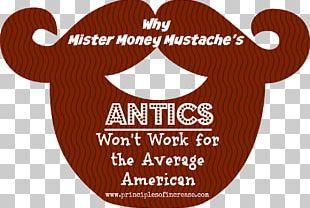 Mr. Money Mustache Retirement Saving Logo PNG