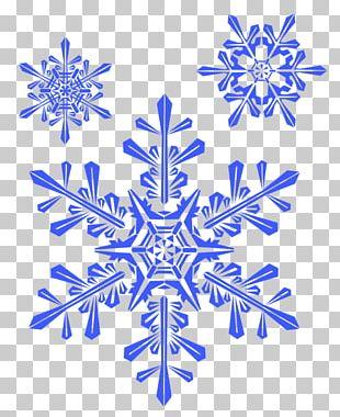 Snowflake Winter Shape PNG