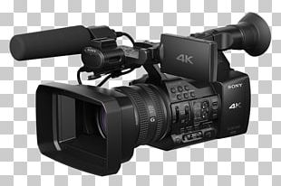 Camcorder XDCAM 4K Resolution Camera Sony Corporation PNG