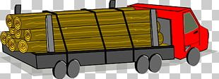 Pickup Truck Logging Truck Lumberjack PNG