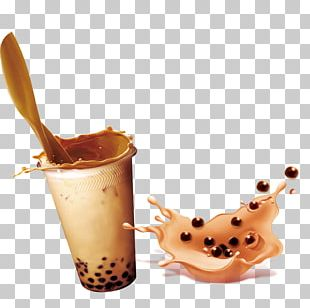 Bubble Tea Milk Tea PNG