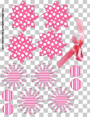 Paper Craft Flower Wreath Petal PNG