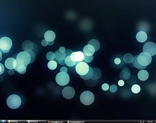 Bokeh Desktop Photography PNG