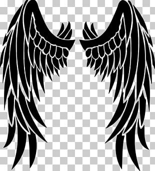 Stencil Angel Drawing PNG