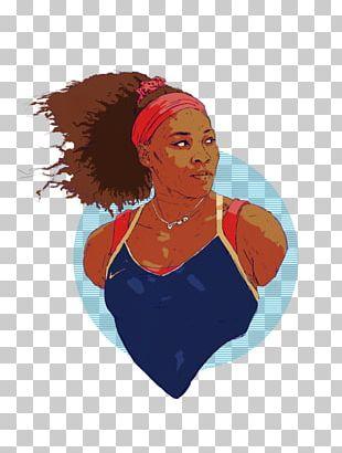 Serena Williams Venus And Serena Australian Open Illustration Drawing PNG