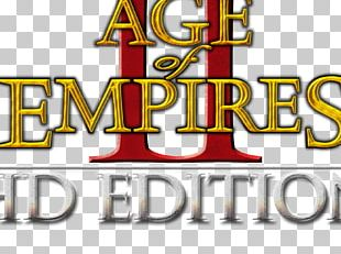 Age Of Empires II: The Forgotten Logo Brand Font Product PNG