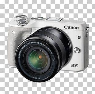 Canon EOS M3 Canon EF Lens Mount Digital SLR Mirrorless Interchangeable-lens Camera PNG