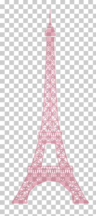 Eiffel Tower Silhouette PNG