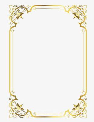 Gold Frame PNG, Clipart, Blackboard, Blackboard Newspaper