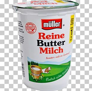 Buttermilk Soured Milk Müller Supermarket PNG