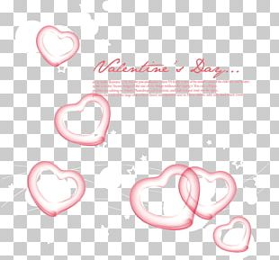 Pink Heart Background PNG