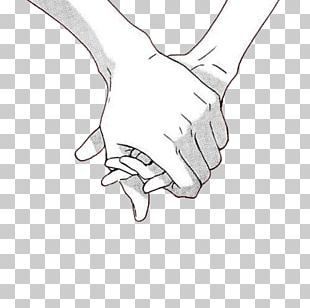 Holding Hands Drawing PNG