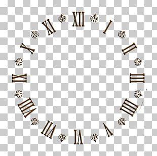 Clock Face Roman Numerals Alarm Clocks Floor & Grandfather Clocks PNG