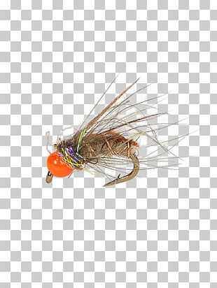 Artificial Fly Caddisflies Pupa Elk Hair Caddis Fly Fishing PNG