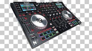 Numark NV DJ Controller Numark Industries Disc Jockey Audio PNG