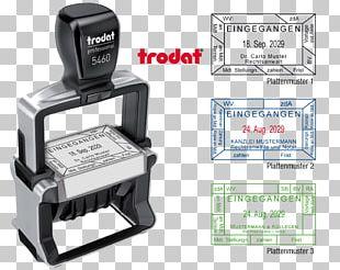 Tampon Dateur Trodat Professional Rubber Stamp Office Supplies SSI Schaefer Shop PNG