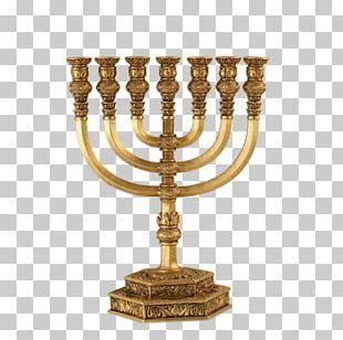 Temple In Jerusalem Solomon's Temple Menorah Judaism Hanukkah PNG