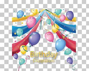 Birthday Balloon Vecteur PNG