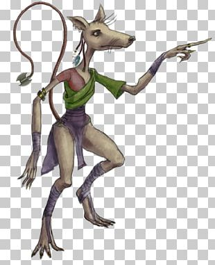 Rat Mouse Drawing Concept Art PNG