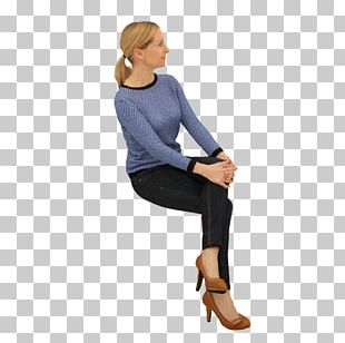 Sitting Woman Chair Standing PNG
