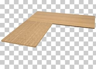 Standing Desk Plywood Table PNG