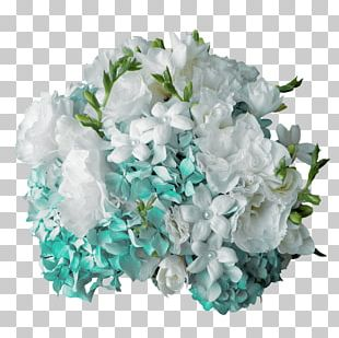 Flower Bouquet French Hydrangea Wedding Rose PNG