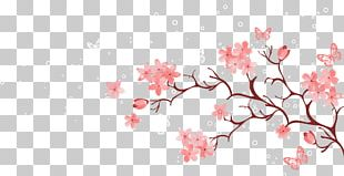 Cherry Blossom Pink PNG