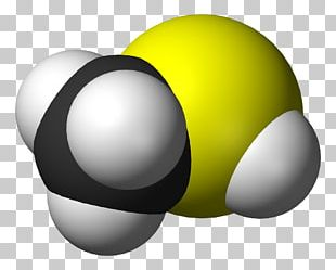 Methanethiol Methyl Group Chemical Compound Molecule PNG