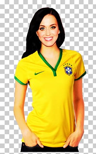 Katy Perry T-shirt 2014 FIFA World Cup Brazil PNG