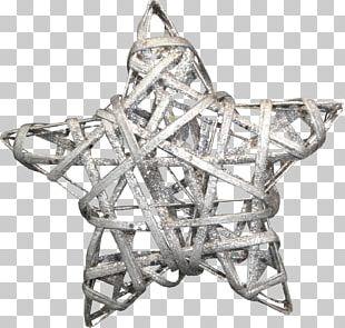 Silver Pentagram PNG