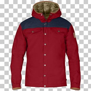 Fjällräven Down Feather Backpacking Jacket Daunenjacke PNG