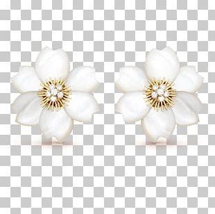 Pearl Earring Body Jewellery PNG