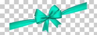 Ribbon Green Gift Wrapping PNG