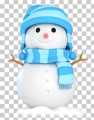 Scottish Terrier Snowman Illustration PNG