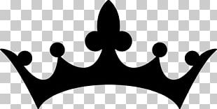 Silhouette Crown PNG
