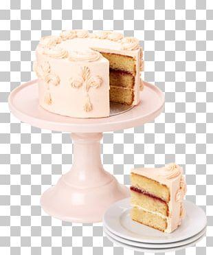 Sugar Cake Petit Four Torte Buttercream PNG