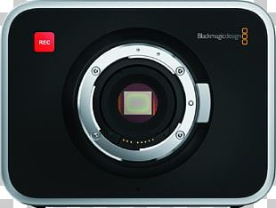 Blackmagic Cinema Camera 4K Resolution Super 35 Blackmagic Design PNG
