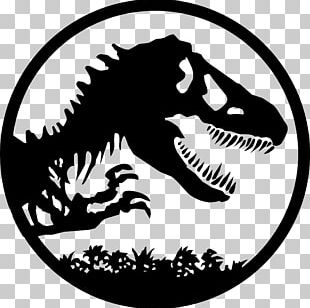 YouTube Jurassic Park Logo Drawing PNG