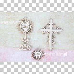 Monstrance Cross Sacramental Bread First Communion Eucharist PNG
