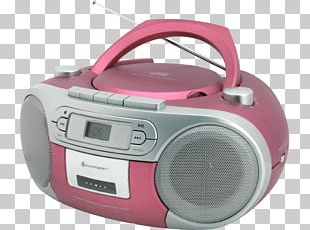 CD Player Boombox Compact Disc Compact Cassette Soundmaster Radio Scd2000Bl PNG