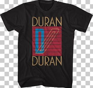 Concert T-shirt Hoodie Duran Duran Seven And The Ragged Tiger PNG