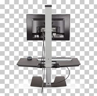 Sit-stand Desk Standing Desk Computer PNG