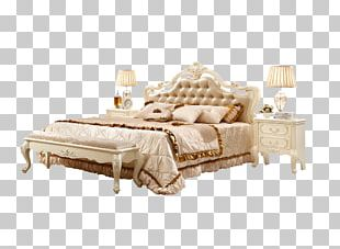 Bed Frame Couch Living Room PNG