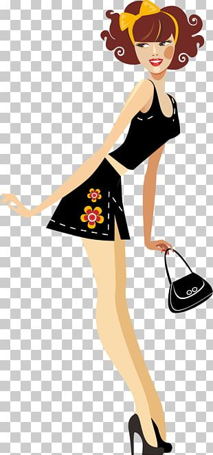 Fashion Illustration Woman PNG