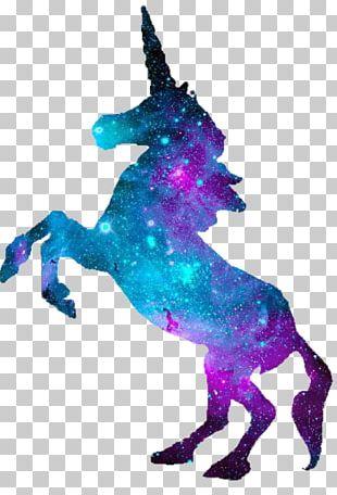Unicorn Silhouette Pegasus PNG