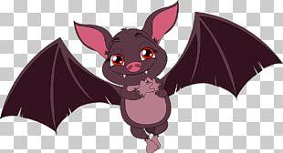 Bat Cartoon Drawing Illustration PNG