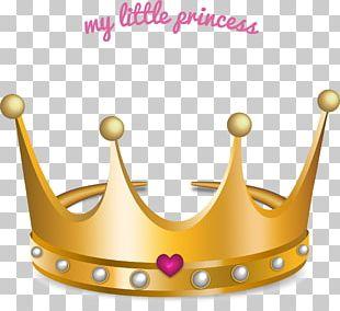 Princess Crown Gold Teeth Drawing PNG