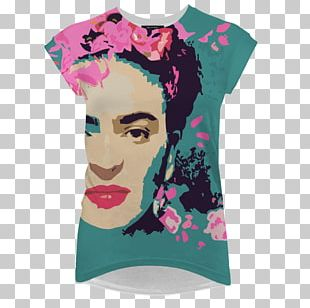 T-shirt Pink M Sleeve Neck PNG